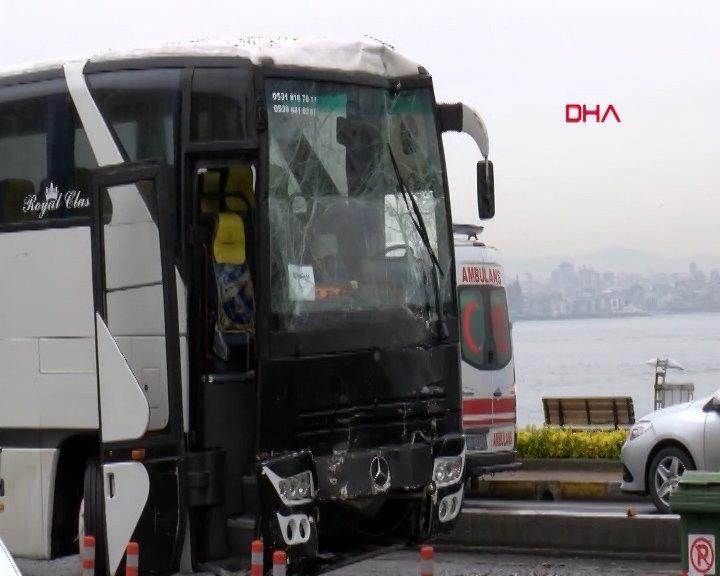 Otobüsler de uçaklar gibi spot film gösterecek