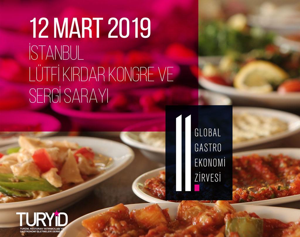 Dünya gastronomi profesyonelleri Mart ayında İstanbul'da