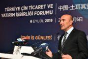 Çin İzmir Enternasyonal Fuarı'nda partner ülke