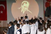 Atatürk Bodrum'da sesiyle anıldı