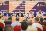 Avrupa Plaj Voleybolu şampiyonaları Eylül'de İzmir'de