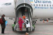 Erciyes Ukraynalı kayakçıları karşıladı
