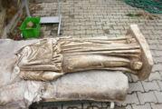 1800 yıllık heykel bulundu